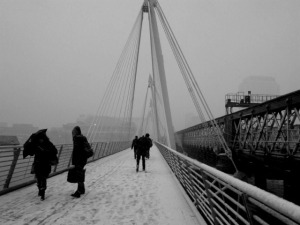 "© ""Hungerford Bridge – 06/01/2010"""