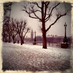 snow in london 2012