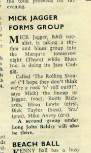 rolling stones 1962