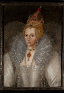Marcus Gheeraerts the Younger, Portrait of Elizabeth I  (c. 1595). Courtesy of Elizabethan Gardens of North Carolina.