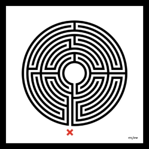 © Mark Wallinger Labyrinth, 2013/ courtesy Anthony Reynolds Gallery, London