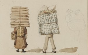 A. Poynter, Sketches of Figures' (c.1835)  © Victoria and Albert Museum - London