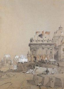 Richard Parkes Bonnington, L'Institut (1828) © Cecil Higgins Art Gallery, Bedford