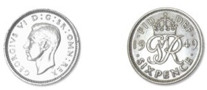 silver six pence