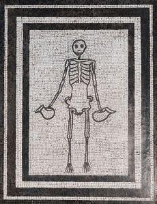 scheletro carpe diem