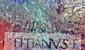 La firma di Tiziano ai raggi infrarossi