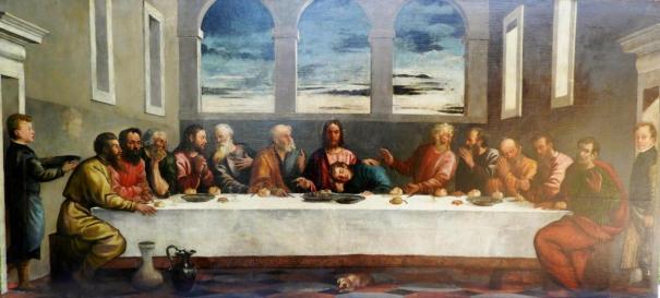ultima cena tiziano